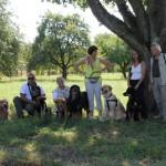 v.l.n.r.: Durin, Gesa, Aro, Fedor, Polly, Dusty & Geoffroy